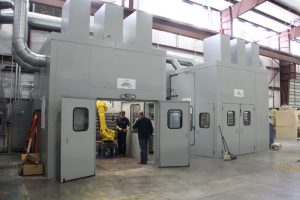 Gas turbine HVOF & plasma booths