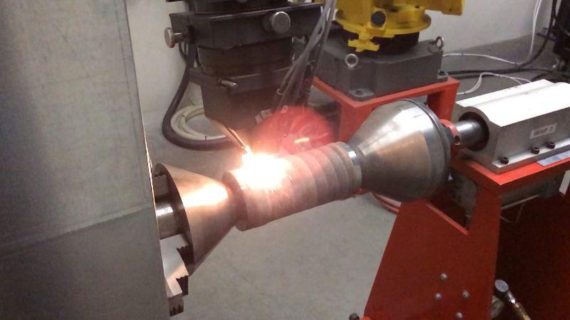 M710iC70 laser clad carbide