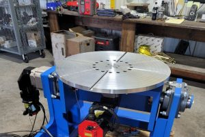 2-axis positioner, 300kg